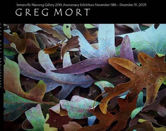 Greg Mort's  20th Anniversary Book 50 page softcover includes 40 iconic watercolor paintings