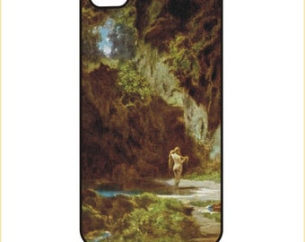Spitzweg - Badende Nymphe - iPhone / Android  Case / Cover - iPhone 4 / 4s, 5 / 5s, 6 / 6 Plus, Samsung Galaxy s4, s5