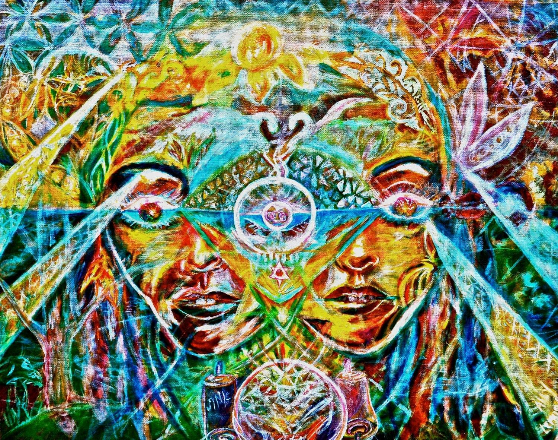 Dark Psychedelic Art P...