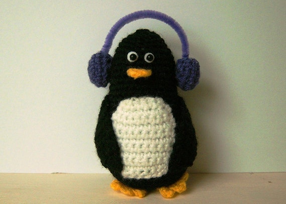 Crochet Pattern Pdf Penny The Penguin From Sewmycupoftea