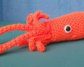 Crochet Squid Pattern