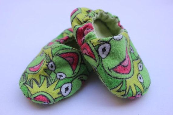 Kermit the Frog Baby Booties