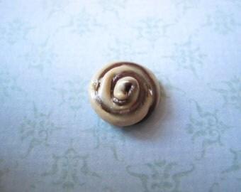 Polymer Clay Cinnamon Roll