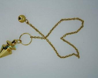 New Healing Brass pendulum With Brass Pagan ET A1/10