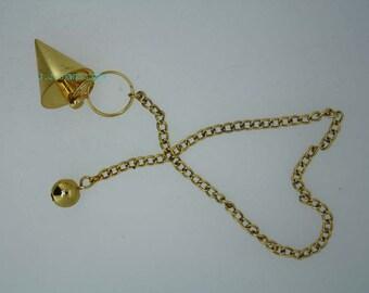 New Healing Brass pendulum With Brass Pagan ET A1/11