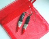 Bloody Butcher Knife Earrings