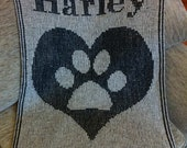 Hearts & Paw Blanket