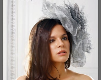 Kentucky Derby Hat. Couture Fascinator. Exclusive Design.