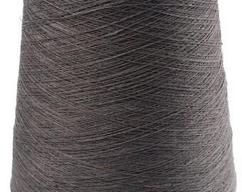1 kg/ 35 oz 100% LINEN YARN, Anthracite Color Linen Yarns, linen yarns, high quality yarn
