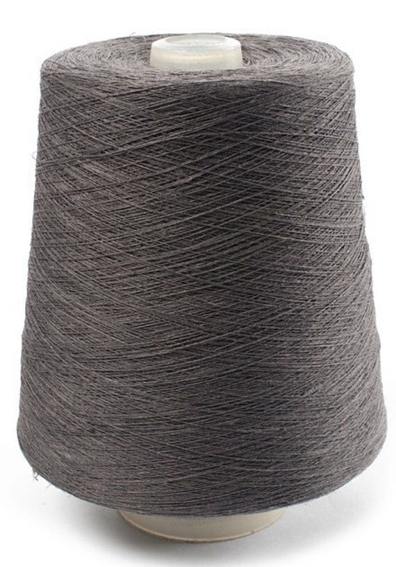 kg/ 35 oz 100% LINEN YARN, Anthracite Color Linen Yarns, linen yarns ...