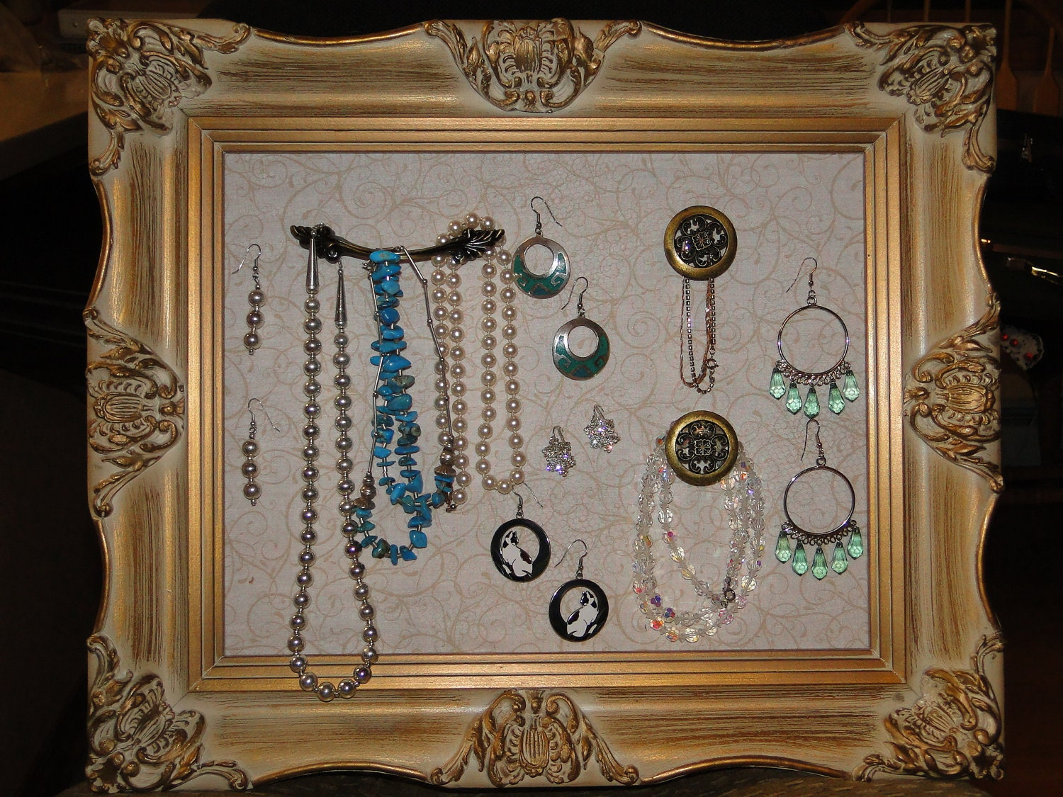 picture frame jewelry holders picture frame jewelry holder organizer by projectpinterest 6580