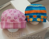 Reversible Baby Beanies PDF Pattern