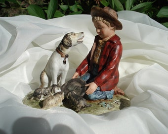 Norman Rockwell's Pride of Parenthood Porcelain Figurine by Gorham, Mint Condition