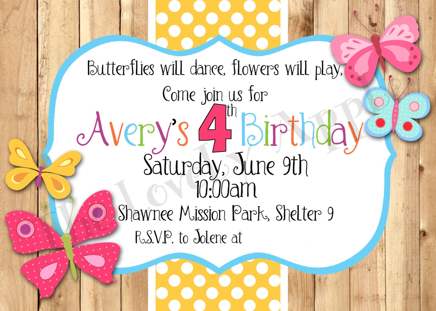 Birthday Invitation Templates Etsy. Il_570xN.371415096_paij. Request A  Custom Order And Have Something Made Just For You.  Birthday Invitation Word Template