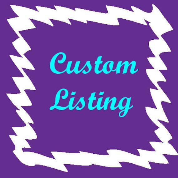 Custom Listing for Emma