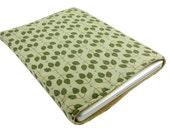 "13"" Macbook Sleeve with Pattern of Cute Green Leaf"