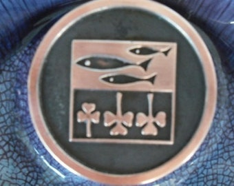 LARGE Roseville Hyde Park Ashtray ON SALE Free Shipping