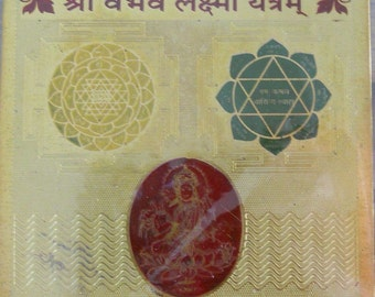 Vaibhav Laksmhi Yantra for Happiness, Peace and Wealth - Blessed