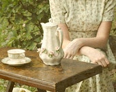 Romantic Feminine Portrait.  8x8 Tea Photograph