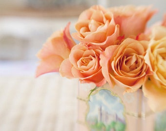 Dreaming of Home (4x6 Original Fine Art Photograph) Romantic Roses