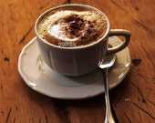 The Mouthwatering Cappuccino Photograph