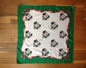 Vintage Christmas Frosty the Snowman scarf