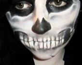 Skeleton Halloween Make up set - Mineral makeup - kid safe, vegan and all natural