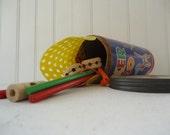 Vintaga Tinker Toy Zoo, Vintage Toy