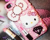 Mac Hello Kitty Lipstick swarovski iphone 4/4s case