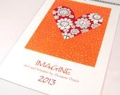 Imagine: Art & Wisdom  2013 Art Calendar by  Suzanne Drown