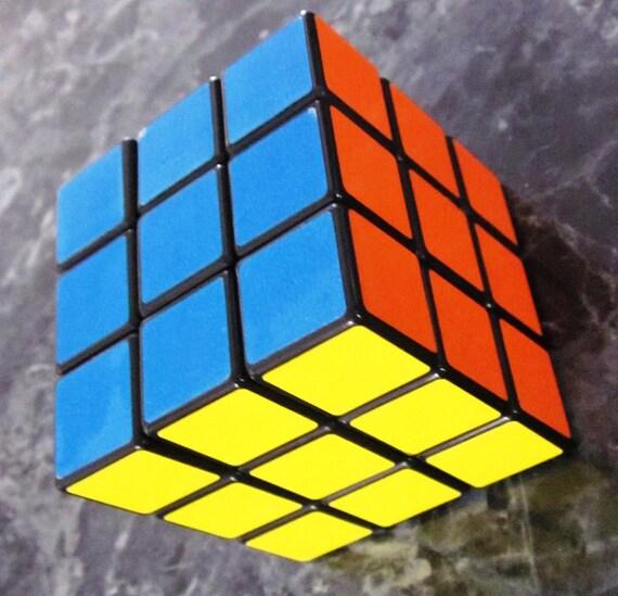 original 1980s rubik 39 s cube by artsefrtse on etsy. Black Bedroom Furniture Sets. Home Design Ideas