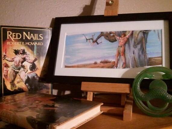 "Conan the Barbarian - Tree of Woe 5""x11"" Poster Print"