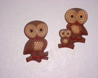 Owl Family Wall Art
