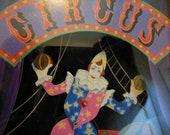 MUSIC BOX.. Dancing Clown... Clown... D a N c I n G ... Circus... Carnival... Vintage