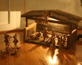 Barnwood Nativity Creche