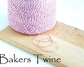 Red Bakers Twine- 50 Yards Free Shipping with additional purchase