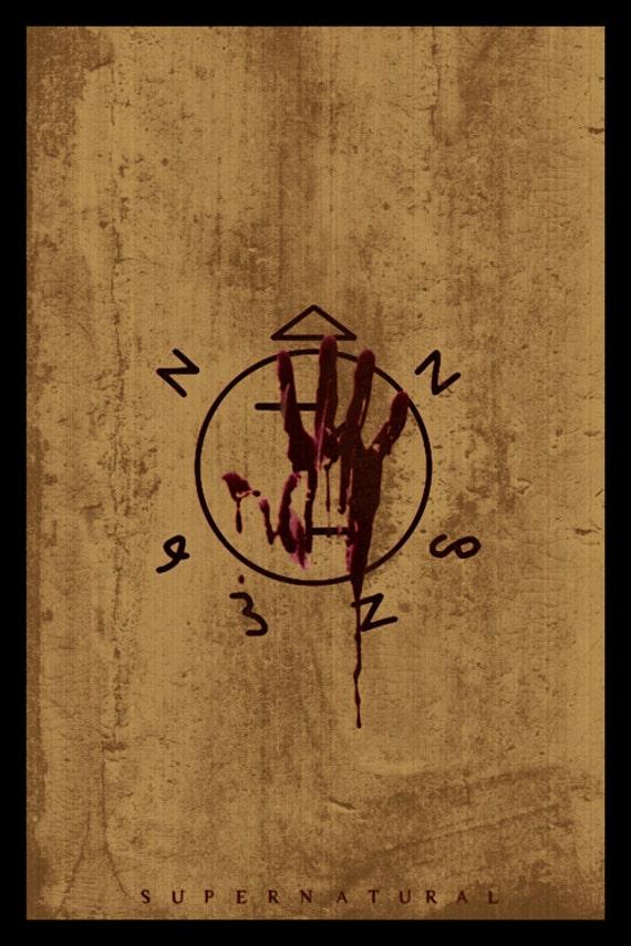 Supernatural poster prints