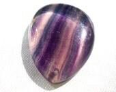 Fluorite Bead Stone 15g Drilled Pendant