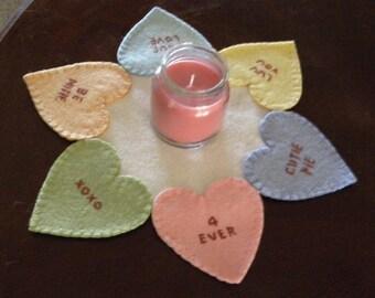 KIT- Conversation Candy Candle Mat