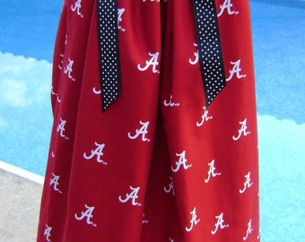 Featuring Alabama Crimson Tide Boutique Pillowcase Dress :TD041-one size 5 ready to ship-