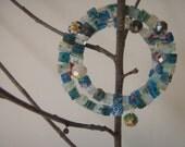 Fun And Colorful Millefiori Memory Wire Bracelet