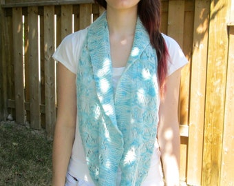 Cowl/Neckwarmer, Circle Scarf, Shrug