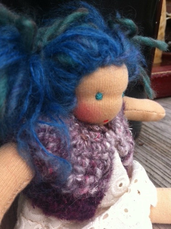 Waldorf doll, 7 inch, reserved for Nancy