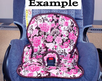 2 Surprise Fabric Car Seat Pads