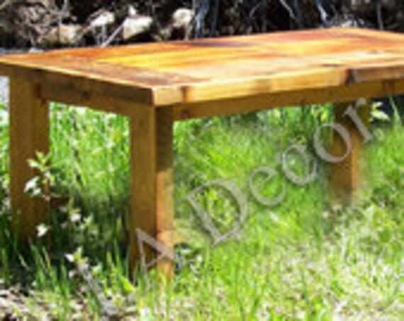 Prairie Coffee Table - Reclaimed Wood Coffee table