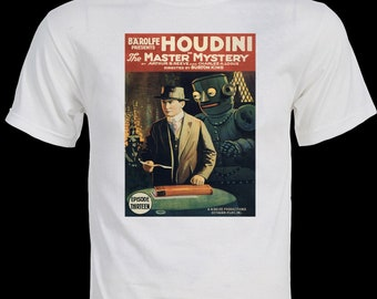 Harry Houdini Film Poster T-Shirt