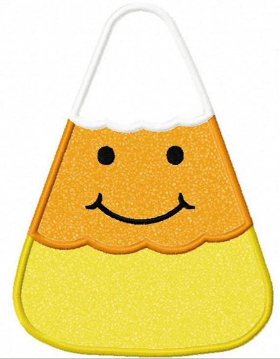 Instant Download Candy Corn  Applique Machine Embroidery Design NO:1189