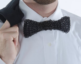 Chainmail Bow Tie