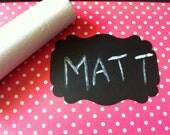 SALE 50 Chalk Label Stickers