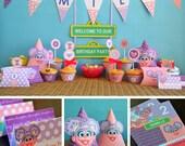 Abby Cadabby Party Printables & Invitation